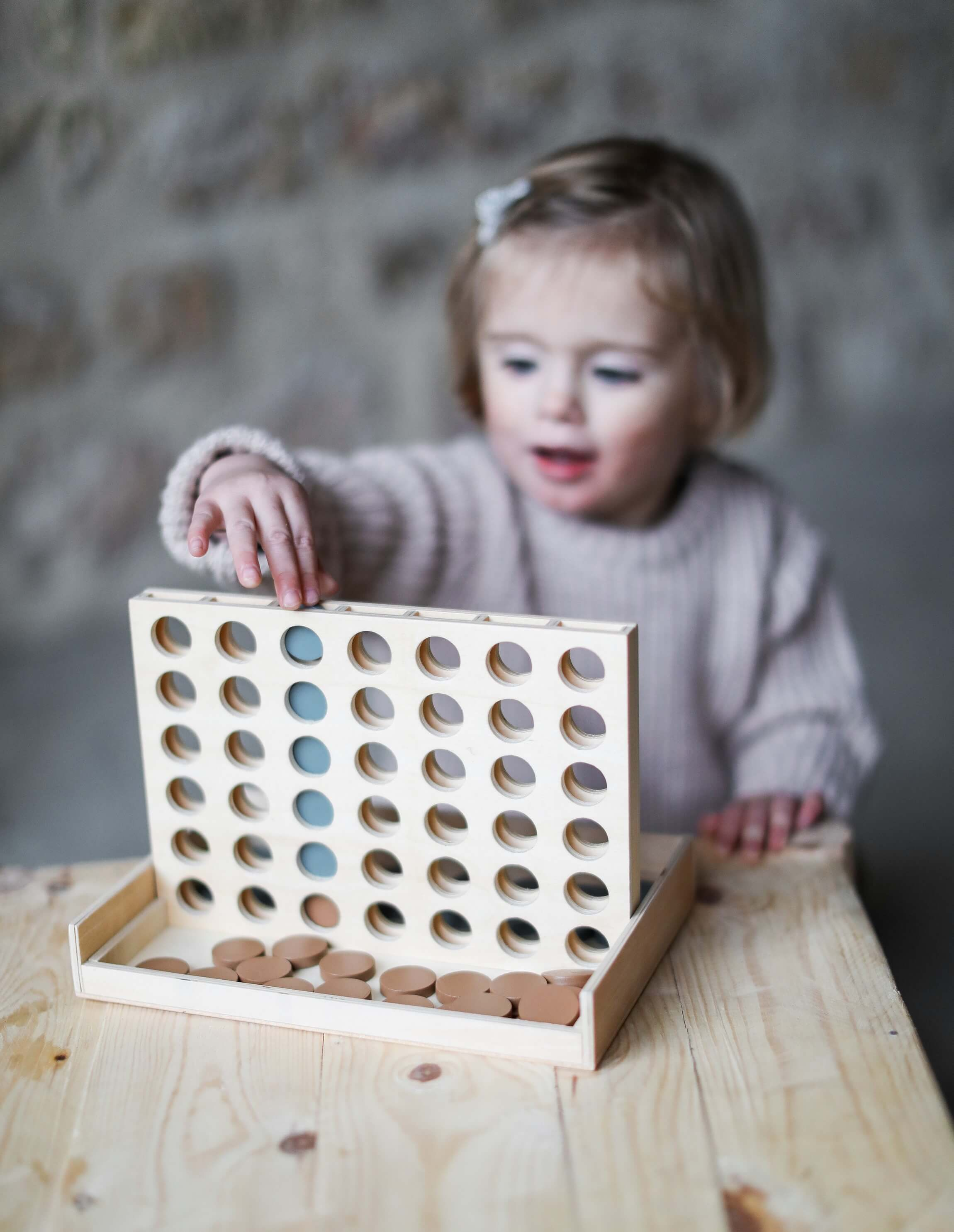 shop Wooden four-in-a-row game
