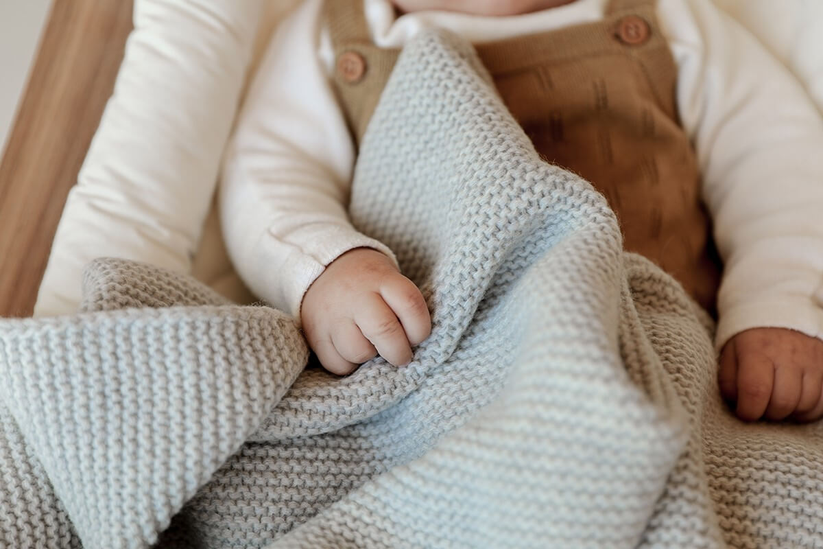 Baby blanket - Knit blanket