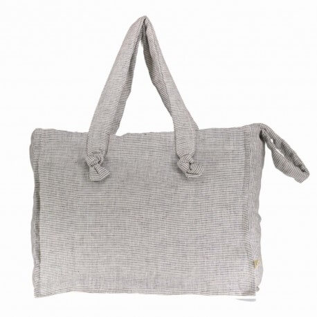 Washed linen changing bag