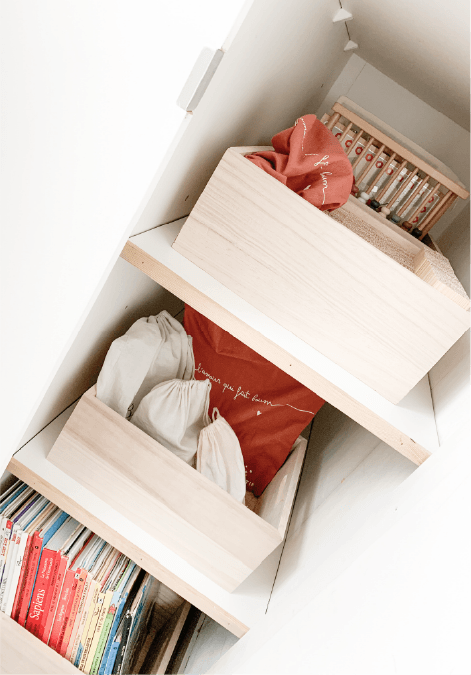 Organiser la chambre d'un enfant