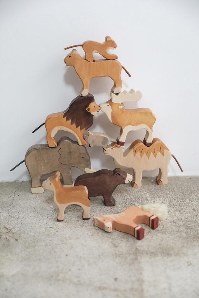 animaux-en-bois-peint-a-la-main