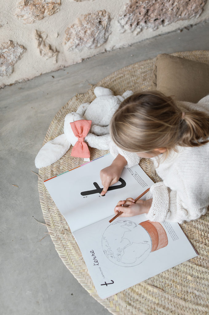 cahier méthode Montessori